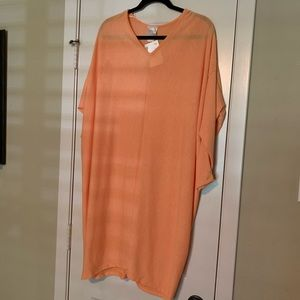 Orange Oversized Dress!  New with tags!